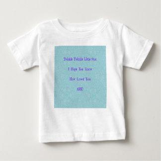 Scintillement de scintillement peu de cadeaux de t-shirt pour bébé
