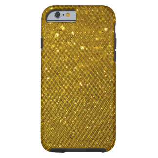 Scintillement d'or coque iPhone 6 tough