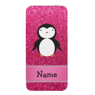 Scintillement nommé personnalisé de rose de pingou