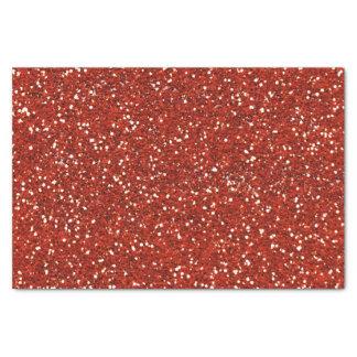 Scintillement   rouge élégant papier mousseline