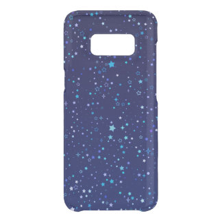 Scintillement Stars2 bleu Coque Get Uncommon Samsung Galaxy S8