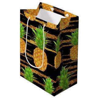 Scintillement tropical d'été sac cadeau moyen