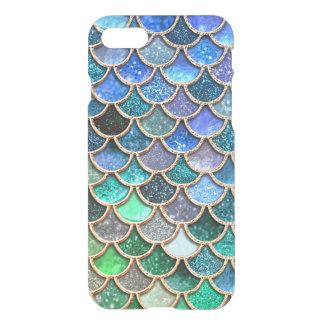 Scintillement vert de ressort de Mermaidscales Coque iPhone 7