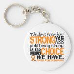 Sclérose en plaques comme nous forts sommes porte-clé