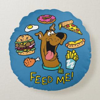 Scooby-Doo m'alimentent ! Coussins Ronds