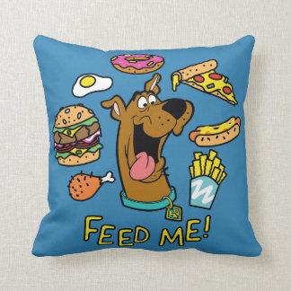Scooby-Doo m'alimentent ! Oreiller