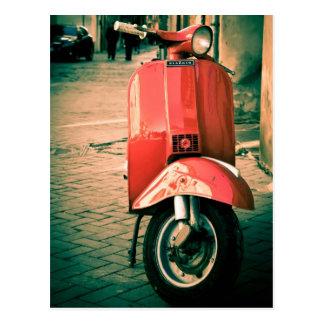 Scooter de Piaggio en Italie Cartes Postales