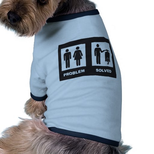 Scooter drôle tee-shirt pour chien