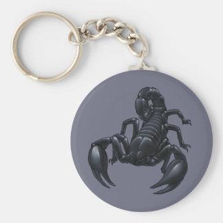 Scorpion Porte-clé Rond