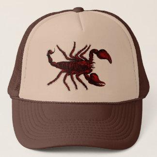 Scorpion rouge - casquette #2
