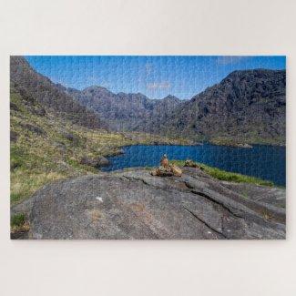 Scotland Jigsaw Puzzle – Loch Coruisk, isle Skye