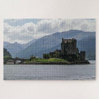 Scotland Jigsaw Puzzle – Loch Duich & Eilean Donan