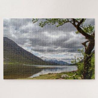 Scotland Jigsaw Puzzle – Loch Etive, Glencoe