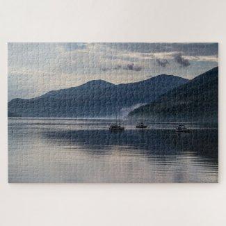 Scotland Jigsaw Puzzle – Loch Tay Clouds