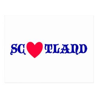 Scotland love carte postale