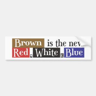 Scott Brown le nouveau rouge, blanc et bleu, sénat Autocollant De Voiture