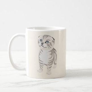 Scottish Fold Kitten Mug Canette