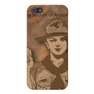 Scouts de garçon de cas de téléphone portable de l coque iPhone 5