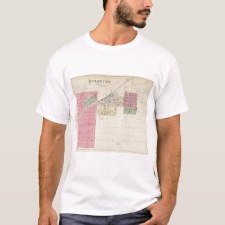 Scranton, le comté d'Osage, le Kansas T-shirt