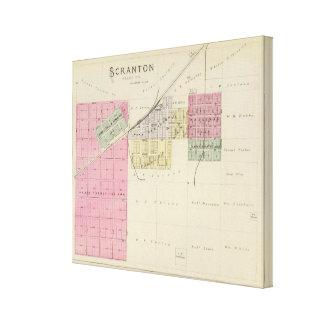 Scranton, le comté d'Osage, le Kansas Toiles