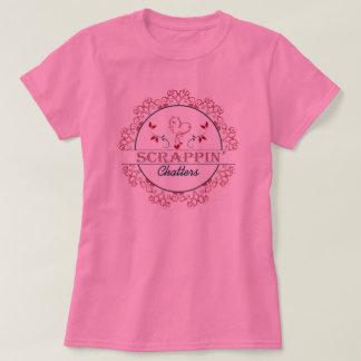 Scrappin vibre T-shirt rose