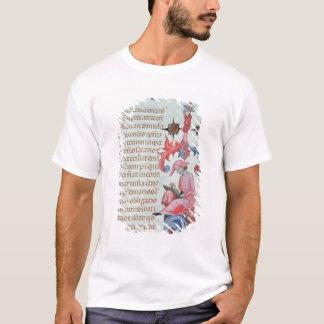 Scribe ou chroniqueur, probablement un t-shirt