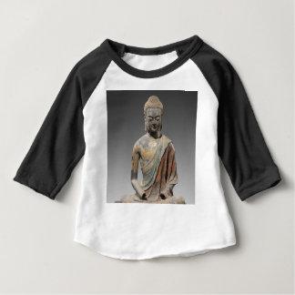 Sculpture décolorée en Bouddha - dynastie de Tang T-shirt Pour Bébé