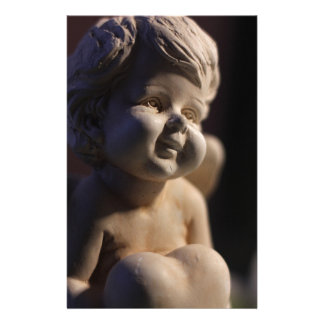 Sculpture en ange papeterie