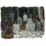 Sculpture en photo de cimetière de sorcière photo sculptures