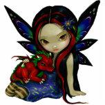 Sculpture en photo du jardin I de Dragonling Découpage En Acrylique