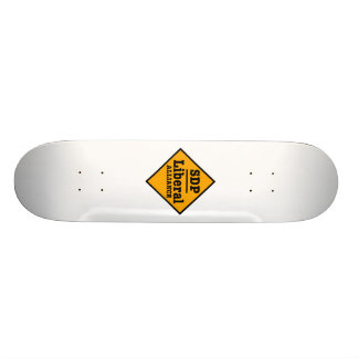 SDP Alliance libéral signent Skateboard 21,6 Cm