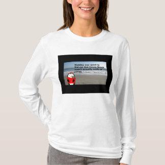 Se dandine le T-shirt de Longsleeve de plage de