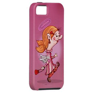 Se d'iPhone de BANDE DESSINÉE d'ANGE de LULU + Coques iPhone 5 Case-Mate