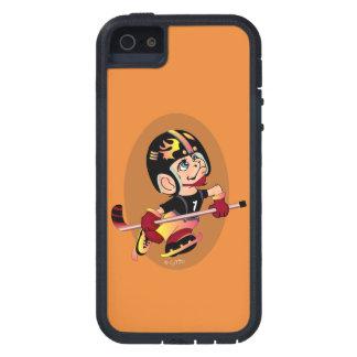 Se d'iPhone de BANDE DESSINÉE de JOUEUR DE HOCKEY Coque iPhone 5 Case-Mate