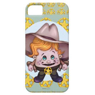 Se d'iPhone de COWBOY d'ANIMAL FAMILIER + iPhone Coque Case-Mate iPhone 5