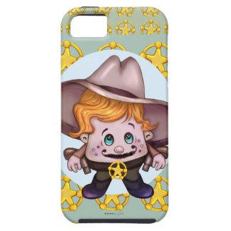Se d'iPhone de COWBOY d'ANIMAL FAMILIER + iPhone Coque iPhone 5 Case-Mate