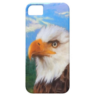 Se d'iPhone d'Eagle chauve + cas de l'iPhone 5/5S iPhone 5 Case