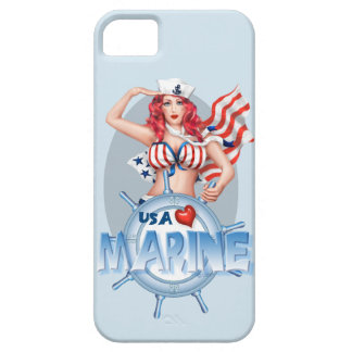 Se MARIN SEXY d'iPhone de BANDE DESSINÉE + iPhone Coque Case-Mate iPhone 5