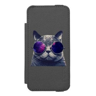 Se noir d'iPhone d'Incipio Watson™ + mur de Coque-portefeuille iPhone 5 Incipio Watson™