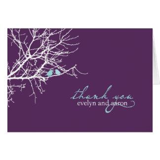 Se reposer dans une note de Merci d'arbre Cartes De Vœux