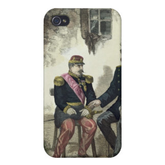 Se réunir entre Otto von Bismarck et le napoléon Coque iPhone 4 Et 4S