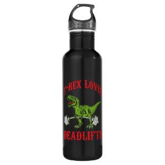 Séance d'entraînement - T-Rex aime Deadlifts - Bouteille D'eau