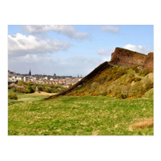 Seat d'Arthur, carte postale d'Edimbourg