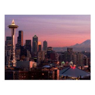 Seattle de parc de Kerry Carte Postale