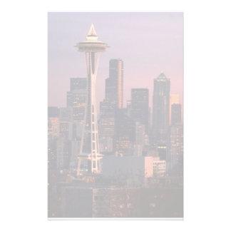 Seattle de parc de Kerry Papier À Lettre Customisé