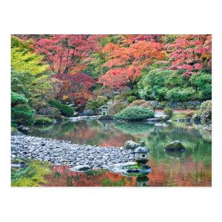 Seattle, jardin de Japonais d'arborétum Carte Postale