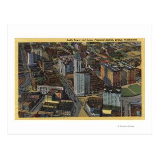 Seattle, Washington - antenne de Smith Carte Postale
