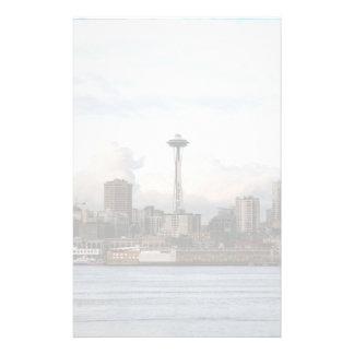 Seattle Washington Papier À Lettre Customisable