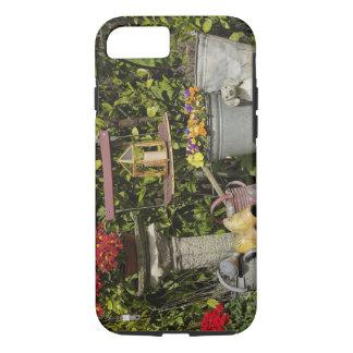 Seaux, chaussures, et fleurs, Zaanse Schans, Coque iPhone 8/7
