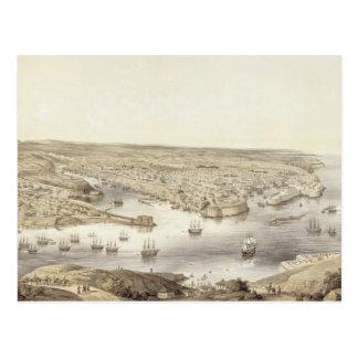 Sébastopol dans toute sa gloire, 1848, gravé par carte postale